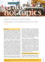 Natural Resource Exploitation: Challenges and Opportunities for LDCs