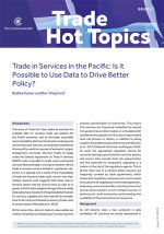 Trade in Services in the Pacific: Is it Possible to Use Data to Drive Better Policy?