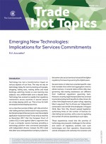 Emerging New Technologies:  Implications for Services Commitments