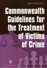 Commonwealth Guidelines for the Treatment of Victims of Crime