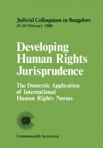 Developing Human Rights Jurisprudence