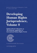 Developing Human Rights Jurisprudence, Volume 8