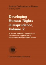 Developing Human Rights Jurisprudence, Volume 2