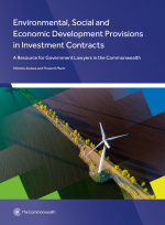 Environmental, Social and Economic Development Provisions in Investment Contracts