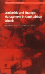 Leadership and Strategic Management in South African Schools