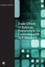 Trade Effects of Rules on Procurement for Commonwealth ACP Members